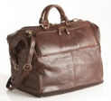 Jekyll & Hide Athena Leather Travel Bag 153276 - Black, Brown