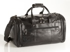 Jekyll & Hide Athena Leather Travel Bag 153358 - Black, Brown