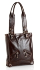 Jekyll & Hide Athena Leather Handbag 213359 - Black, Brown