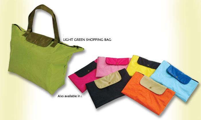 Canvas shopping/beach bag with zip (Avail in assort designs)