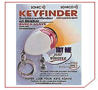 Key Finder - Whistle Keyring
