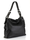 Jekyll & Hide Deer Skin Leather Handbag 6391 - Black