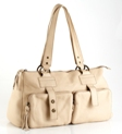 Jekyll & Hide Cow Leather Handbag 7409 - Cream