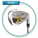 Orion ladies graphite shaft irons 4-SW