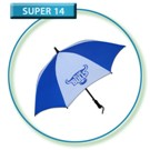 BULLS Junior Blue & White Golf Umbrella