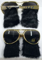 Gold Elvis Shades - Min Order: 12