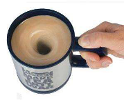 Plain Lazy � Self � Stirring Lazy Mug - Min Order: 6