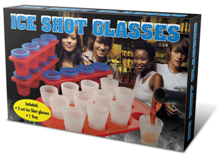 Ice Shot Glasses - Min Order: 6