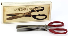 Shredding Scissors - Min Order: 6