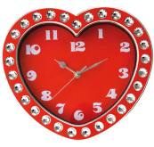 Diamonds Heart Wall clock - Min Order: 3