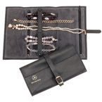 Mystic Jewellery Roll - Black