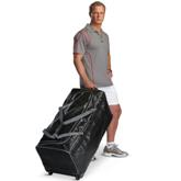 BRT Club Wheelie Bag - Avail in: Black/Silver