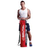 Brutal Tube Ball Bag - Avail in: Red/Black