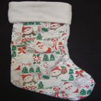 Christmas Stocking  - Glitter - Colours