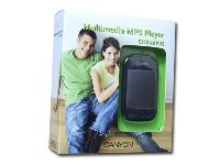 Canyon MP4 Player - 4GB Voice recording and FM tuner, MP4, Video