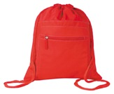 Indestruktible Drawstring Backpack - Red