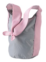 Knotted Sling - Pink/Grey