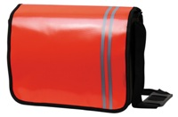 Tarp Sling Bag - Red/Black