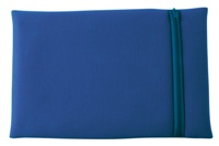 Neoprene Zippered Laptop Skin - Blue