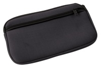 Neoprene Travel Document Holder - Black