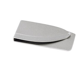 2 TONE SILVER MONEY CLIP  ARC