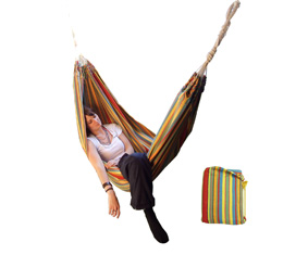 Brazillian Striped Cotton Hammock