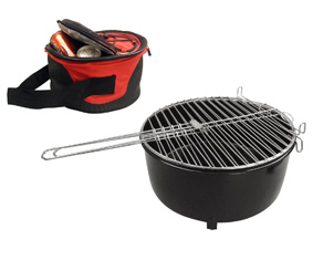 Mini Grill Braai  & Insulated Cooler