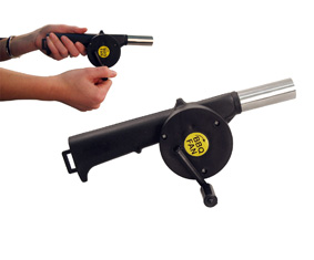 Braai Fan With Manual Turning  Handl