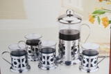 Plungers Coffee 5Pc set 800ml & 4cup Min Order: 10