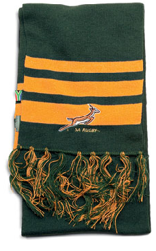 "The ""Green & Gold"" Scarf"