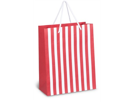 Candy Cane Midi Gift Bag