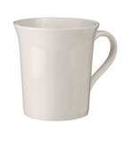 Wide Lip Coffee Mug - Avail in: White