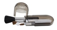 Ladys 4 Piece Make Up Brushes - Avail in: Blue