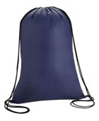Drawstring Non Woven Backpack - Avail in: Navy