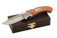 Tom Biltong Knife - Avail in: Silver