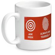 Sublimation Coffee Mug - Avail in: White