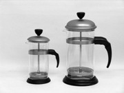 Coffee Plung. 1.00L, Pyrex Glass