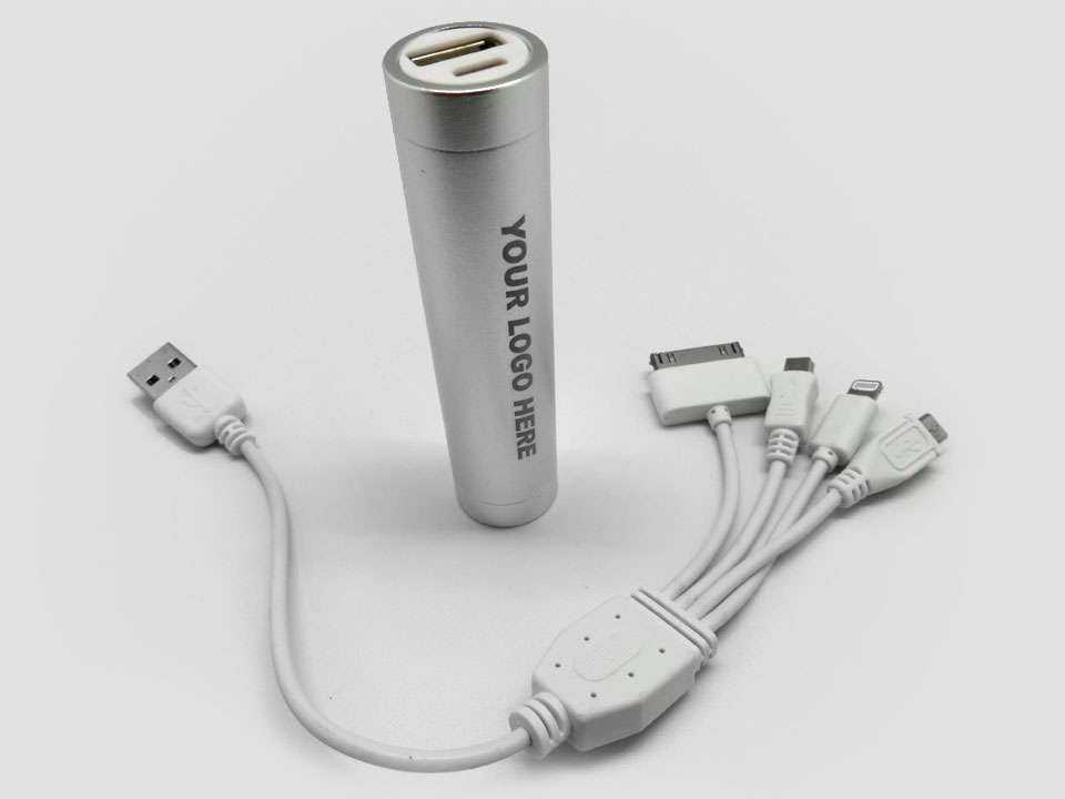Tube Powerbank 2200mAh