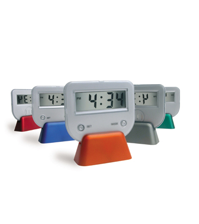 Picadilly desk clock - Assorted Colours