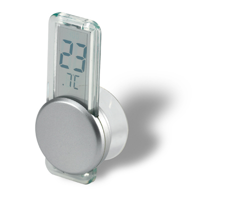 Luxurious LCD thermometer with suction cup