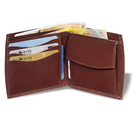 Geniune Leather Wallet Brown
