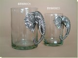 Elephant Large Beer Mug - African Theme