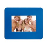 Mouse pad with picture insert - Available in: Black , Blue , Whi