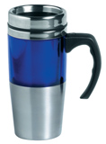 Manhatten stainless steel thermal mug
