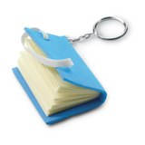 PVC note book key ring -Available in: Fuchsia-Lime-Heaven Blue