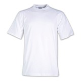 170g Combed Cotton Crew-neck T-shirts - Avail in: White