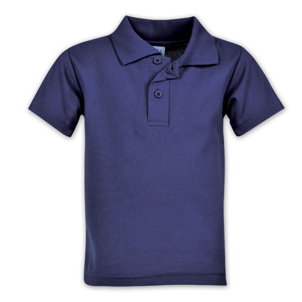 Youth Classic Pique Knit Polo  - Avail in: Black, Red, Navy, Bei