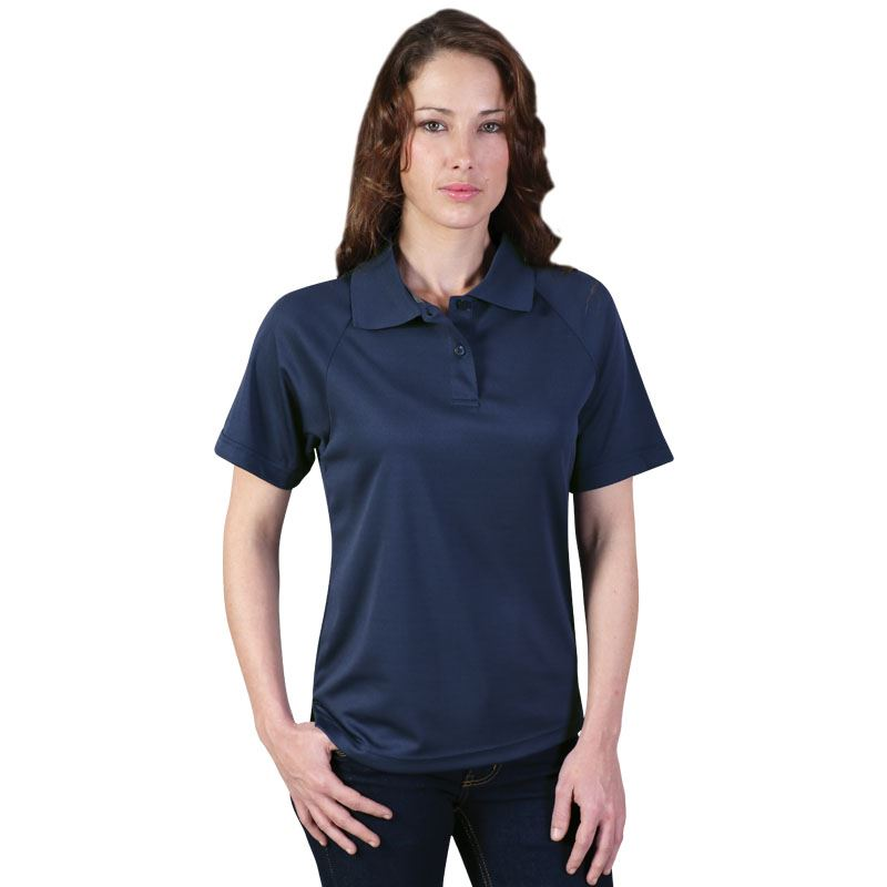 Ladies Classic Sports Polo - Avail in: White, Red, Navy, Black,