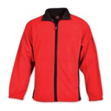Two-tone Microfibre Polar Fleece - Avail in: Red/Black, Combat B