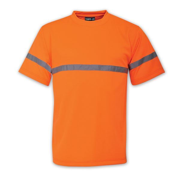 High Visibility T-Shirt - Avail in: Fluorescent Yellow, Fluoresc